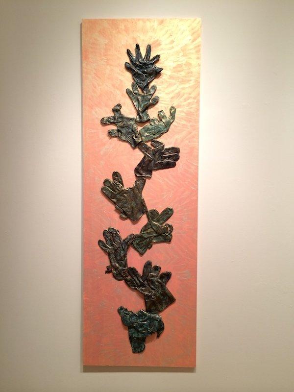 B. Amore, Tree of Life sculpture at Waltham Open Studios