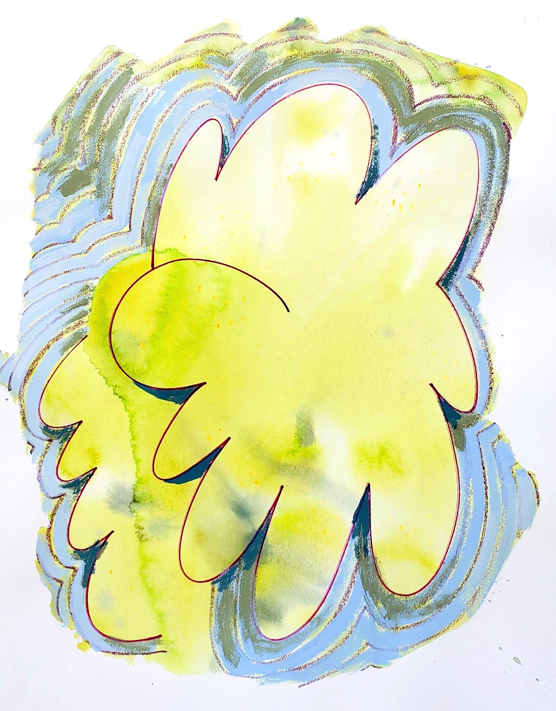 "Nina Bellucci, ""Cautiously Optimistic 3"", at Waltham Open Studios 2020"