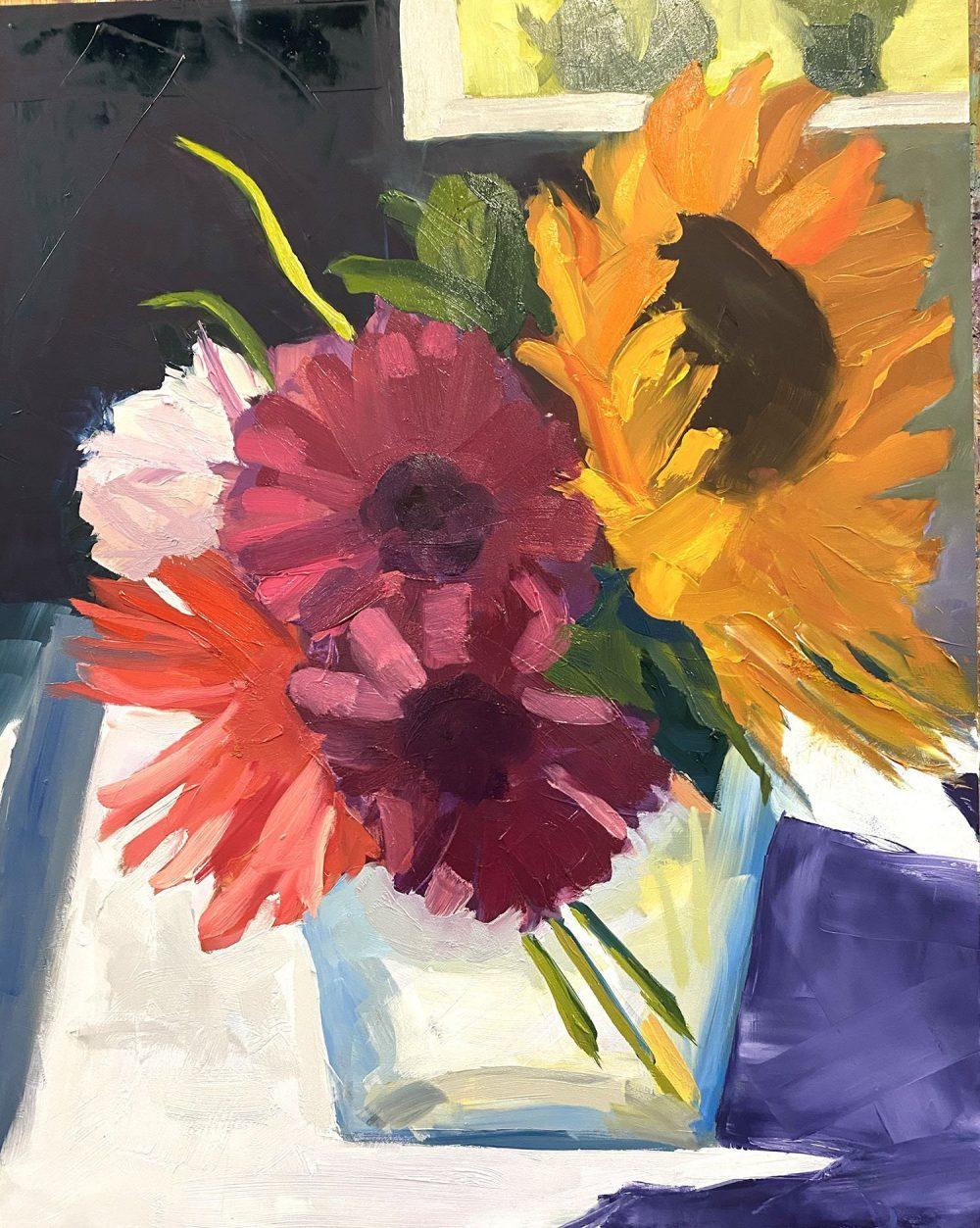 Mimi Jigarjian, Bouquet Boogie, at Waltham Open Studios 2020