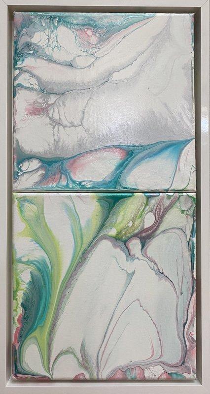"""SOPHIA C MONE, """"Gentle Waters"""", at Open Studios 2020"""