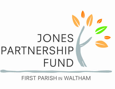 Jones Partnership First Parish Waltham Open Studios Sponsor