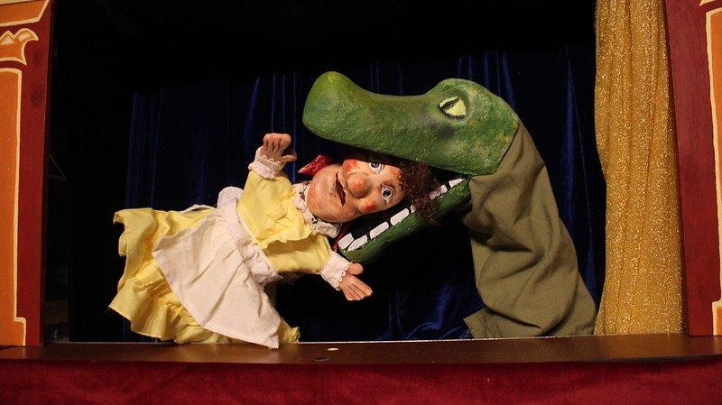 Hand Puppet Show by Sarah Nolen