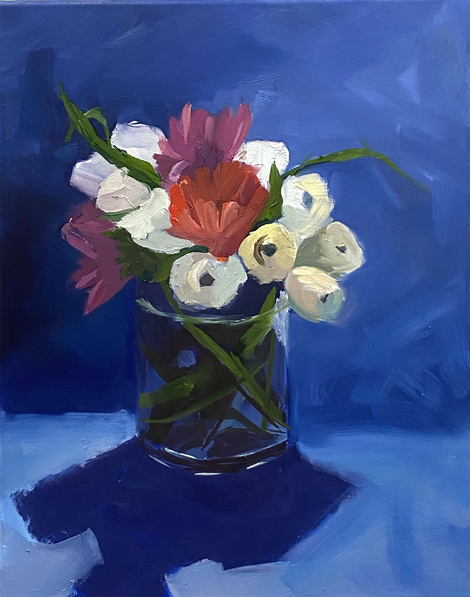 Mimi Jigarjian, Out of the Blue, at Waltham Open Studios 2020