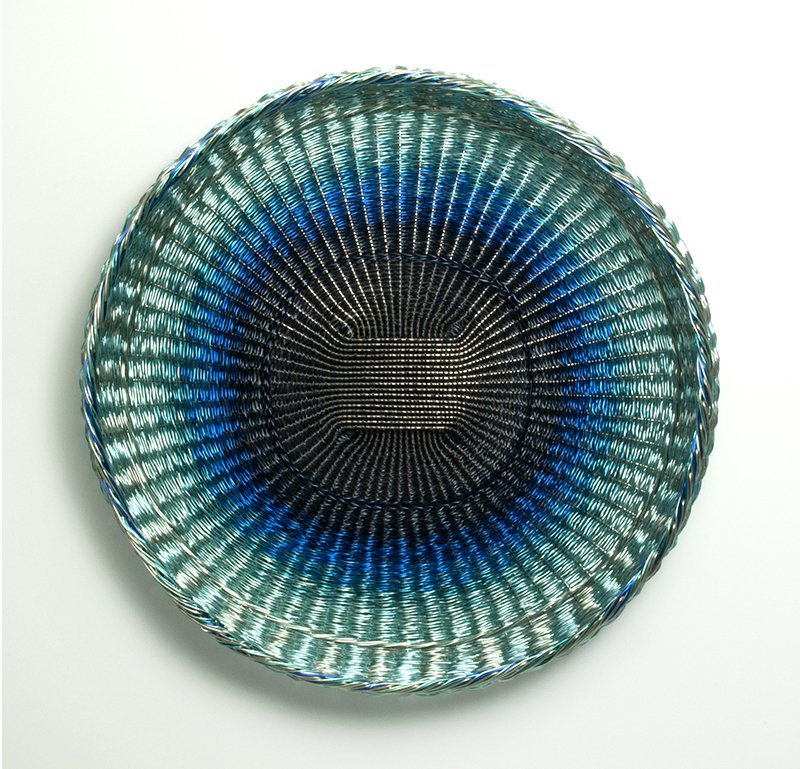 Sharon Stafford Metals, Shades of Blue, at Waltham Open Studios 2020