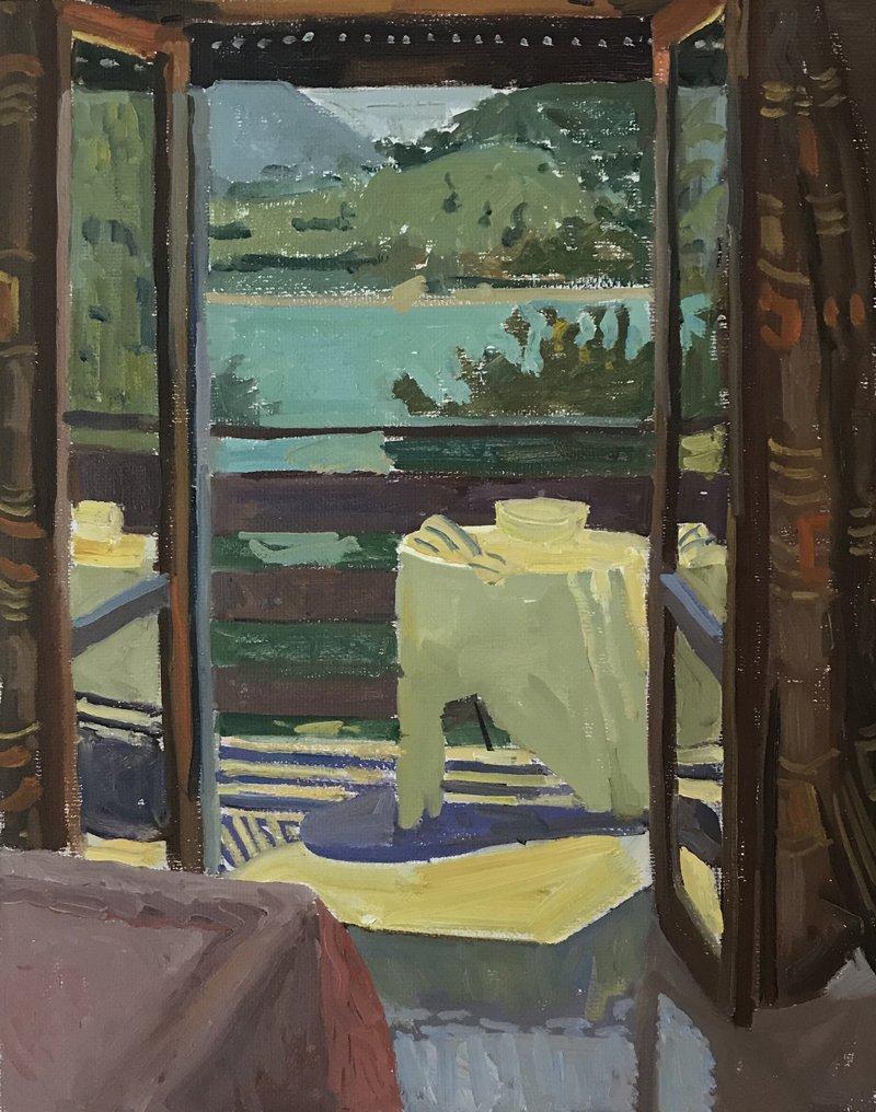 Kelly Carmody, Balcony, Waltham Mills , 2020