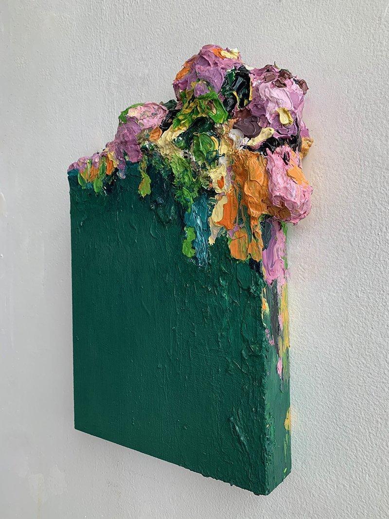 Sarah Meyers Brent, Flower Vase III, at Waltham Open Studios 2020