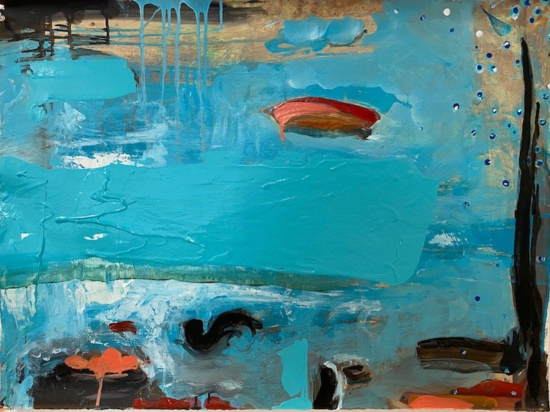 Painter Rosemary Broton Boyle - Waltham Open Studios
