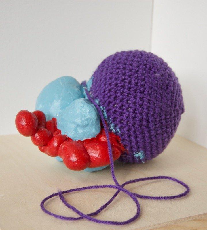 Marta Kaemmer mixed media sculpture at Waltham Open Studios