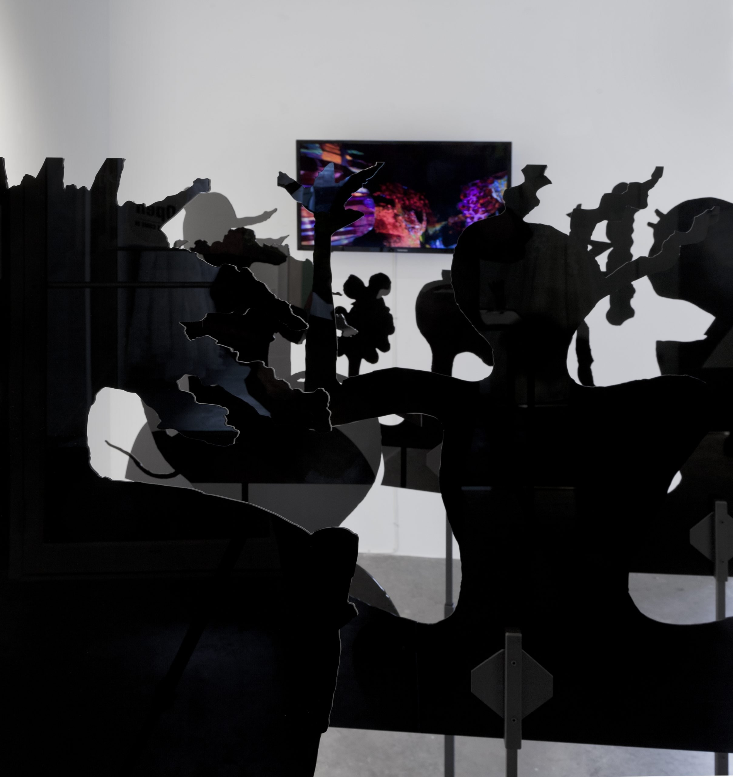 """Melissa Shaak, installation image from """"Out of Nowhere"""""""
