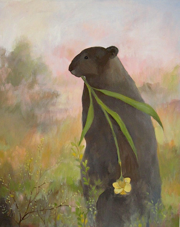 Sarah Leon, Groundhog, Open Studios 2021