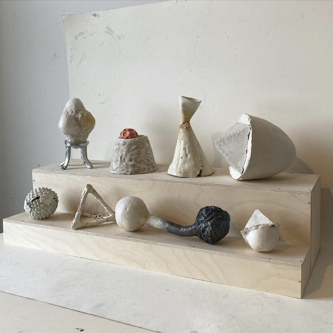 Kathleen Volp Irregular Geometry at Waltham Open Studios 2021